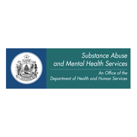 Substance Abuse and Mental Health Services logo